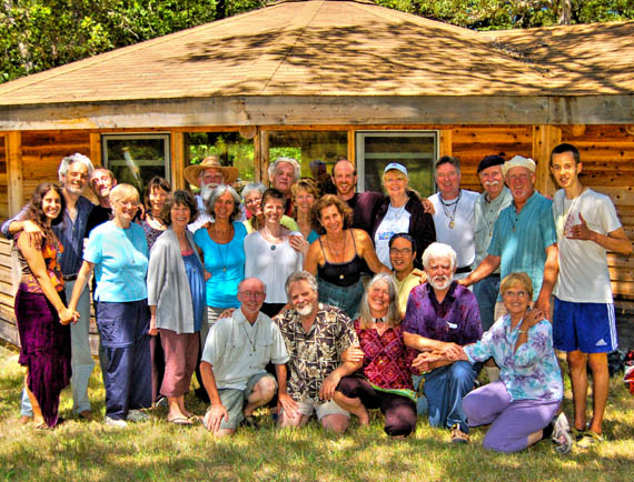 July 2012 Retreat - Buckhorn Springs - group photo