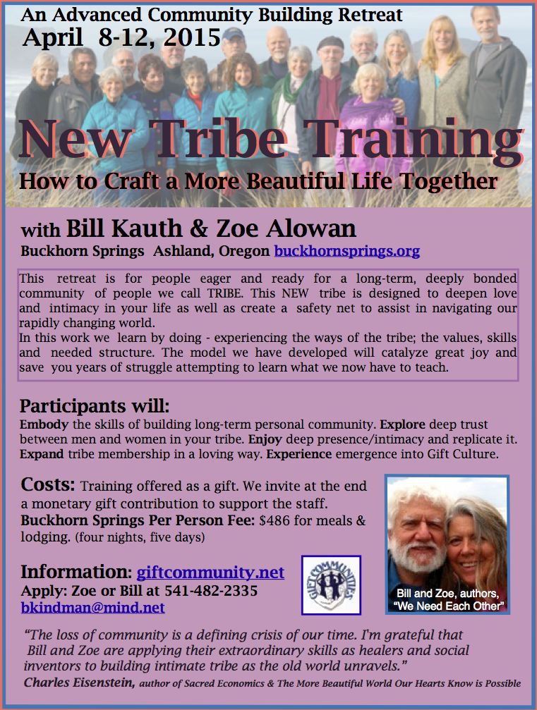 NewTribeTraining2015