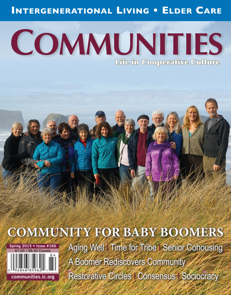 cover of Communities magazine