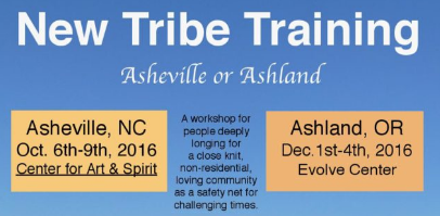 New Tribe Training - Asheville or Ashland - 2016