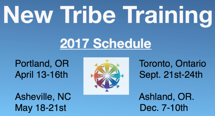 New Tribe Training events for 2017